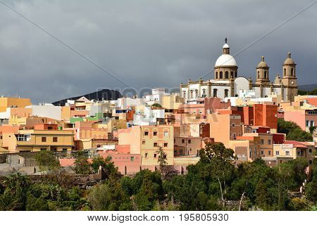 Discover the colorful town of Aguimes, Gran Canaria, Spain