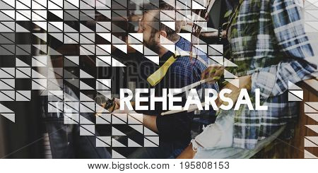Musician Playing Rehearsal Music Leisure Hobby Passion