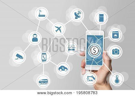 Monetization from digital business models around IOT