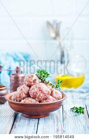 Raw Meatballs