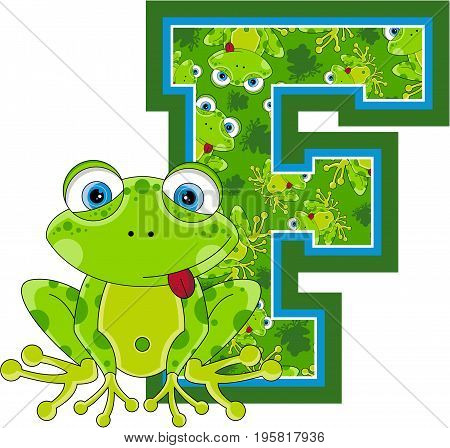 F Is For Frog 3.eps