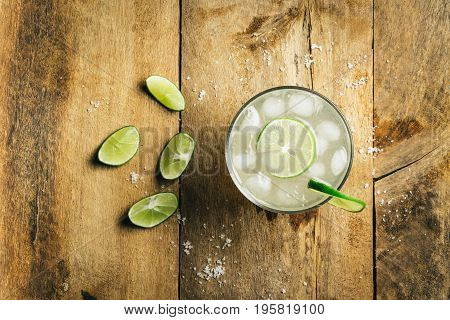 Cold Fresh Lime Soda
