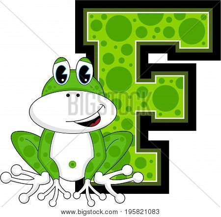 F Is For Frog 4.eps