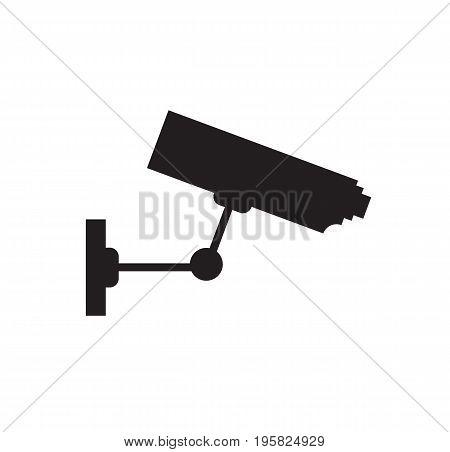Video surveillance, CCTV camera icon. Security camera. Vector stock.