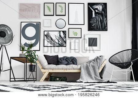 Artistic Living Room