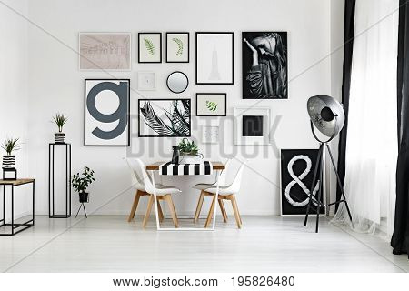 Table By The Wall