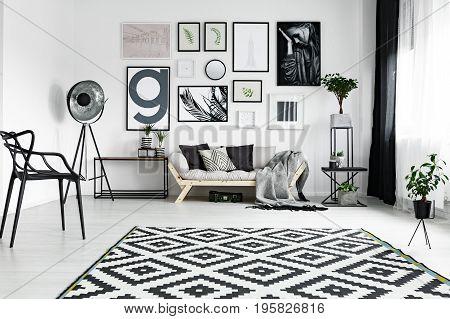 Fancy Furniture In Lounge