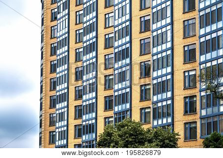 Windows and Architecture of downtown Washington, United States
