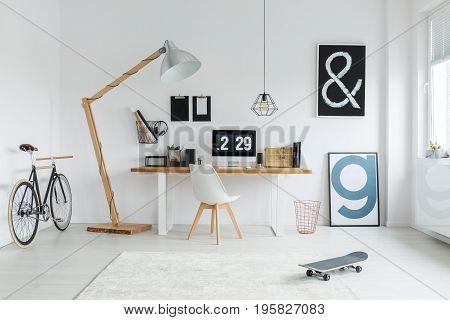 Wooden Decoration In Loft
