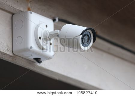 Closed circuit camera for save life in home