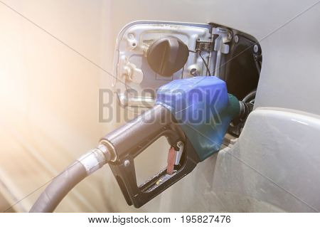 Car Refuel in Pump Station for drive