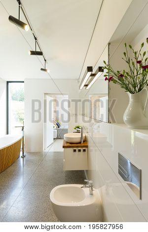 Bathroom With Free Standing Bath