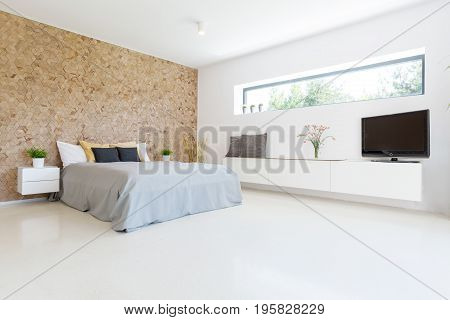 Spacious And Bright Bedroom