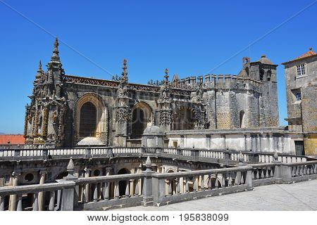 Convent Of Christ In Tomar, Portugal