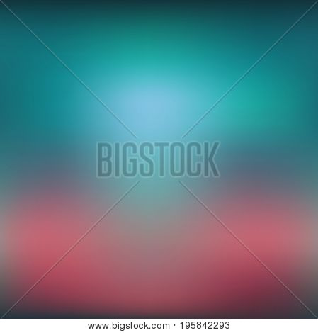 Abstract colorful blurred vector background. Element for your website or presentation. Red and pink color.