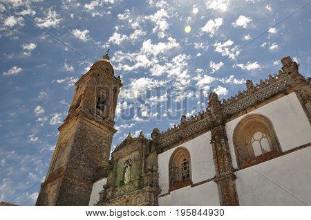 Church of Cadiz on a sunny day, Spain