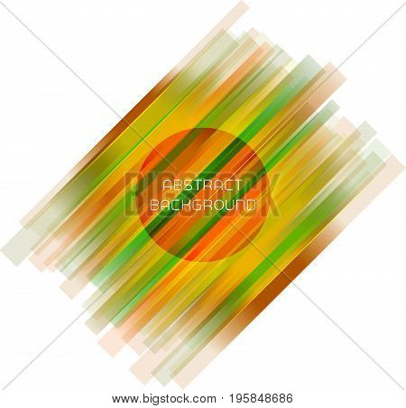 Abstract stripe geometric background for your design. Brochure, leaflet, poster, backdrop, flyer etc. Stock vector illustration