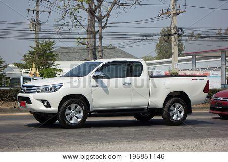Private Pickup Truck Car Toyota Hilux Revo.