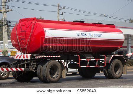 Palm Oil Truck Of Sanga Transport.