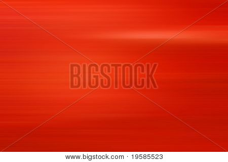 High resolution red abstract background with horizontal lines poster
