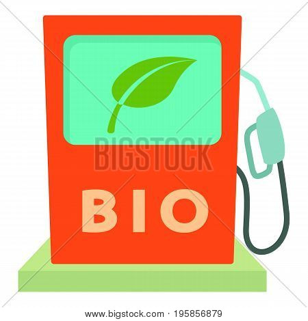 Biofuel icon. Cartoon illustration of biofuel vector icon for web
