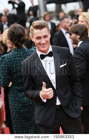 Alexey Vorobyov attends the 'Nelyobov (Loveless)' screening during the 70th Cannes Film Festival at Palais des Festivals on May 18, 2017 in Cannes, France.