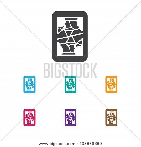 Vector Illustration Of Excitement Symbol On Jack Card Icon