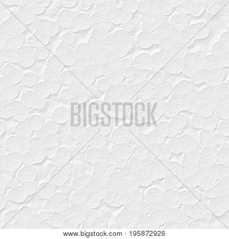 white styrofoam texture seamless rendered with 2D program