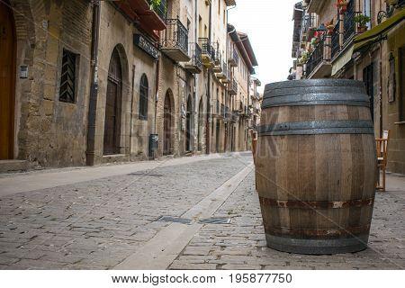 Route of Pilgrims on the Camino de Santiago in Spain