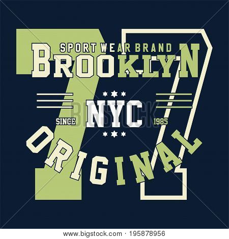 graphic design brooklyn nyc original for shirt and print