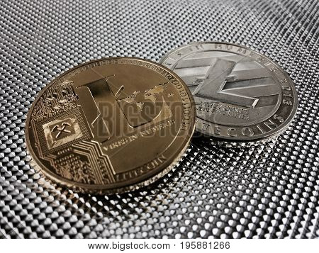 Silver And Gold Litecoin