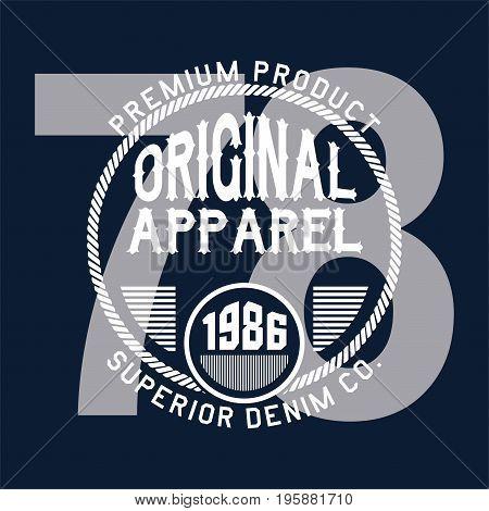 graphic design original apparel superior for shirt and print
