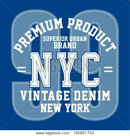 graphic design premium product nyc for shirt and print