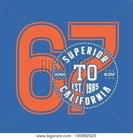 graphic design superior born california for shirt and print