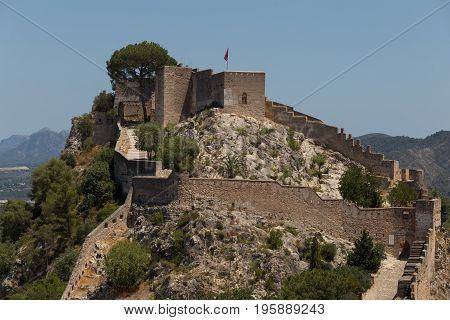 Castle of Xativa Valencia Region of Spain