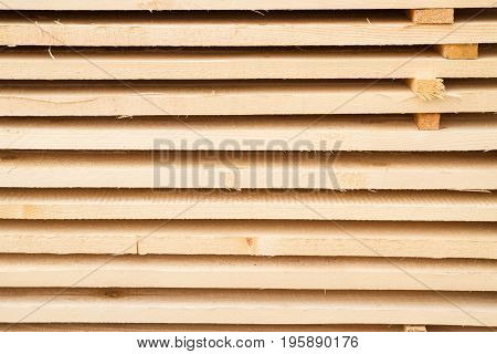 Building Materials For Sale Outside On The Basis Of The Building
