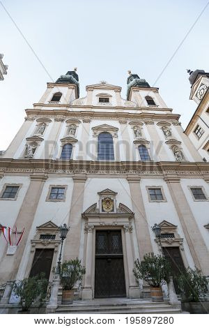 Jesuit Church In Vienna