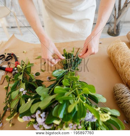 Photo of florist at