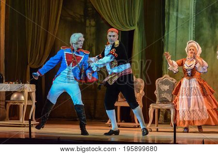 Classical Opera The Barber Of  Seville
