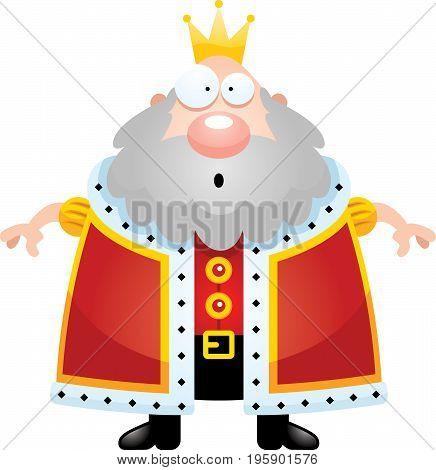 Surprised Cartoon King