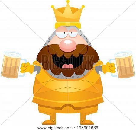 Drunk Cartoon King