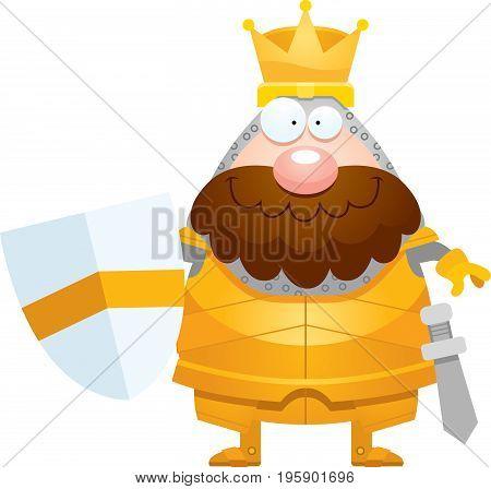 Happy Cartoon King