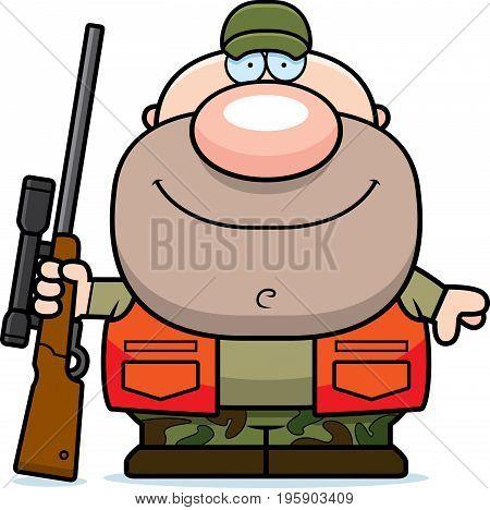 Happy Cartoon Hunter