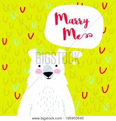 Marry Me Card
