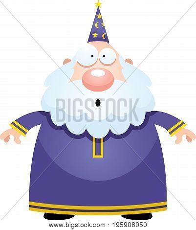 Surprised Cartoon Wizard