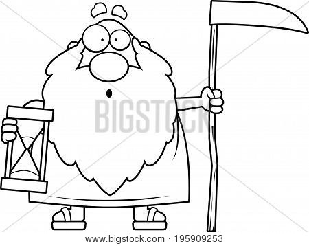 Surprised Cartoon Father Time