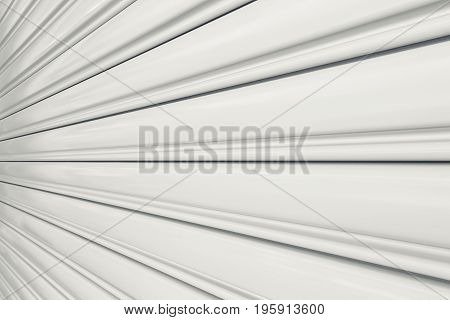 Texture of shutter door or roller door for background.