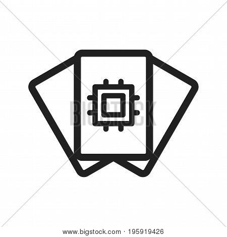 Data, analysis, research icon vector image. Can also be used for Data Analytics. Suitable for web apps, mobile apps and print media.