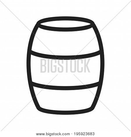 Pirate, barrel, old icon vector image. Can also be used for Pirate. Suitable for use on web apps, mobile apps and print media