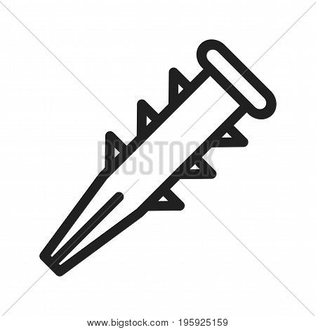 Dyupel, tool, carpentry icon vector image. Can also be used for Hand Tools. Suitable for use on web apps, mobile apps and print media